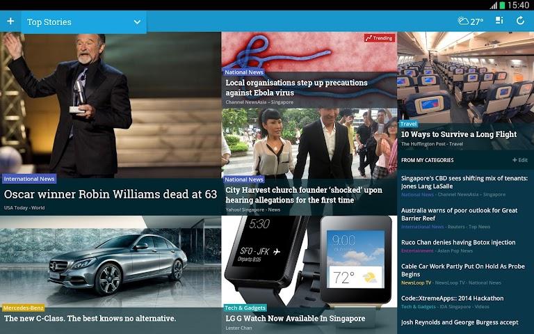 Screenshot 1 NewsLoop