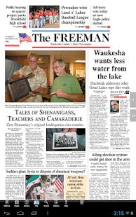 Waukesha Freeman - screenshot thumbnail