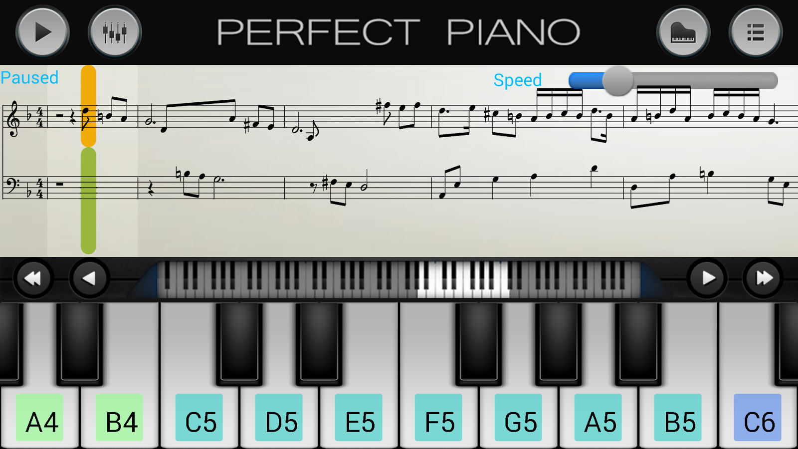 Perfect Piano Android Apps On Google Play