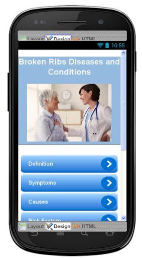 Broken Ribs Disease Symptoms