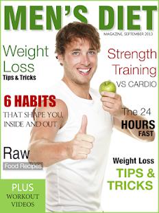 Men's Diet Magazine - náhled