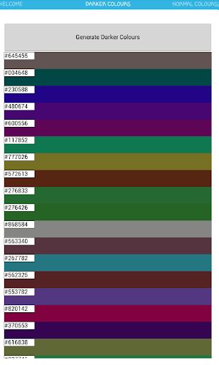 【免費工具App】Hexadecimal Color Generator-APP點子