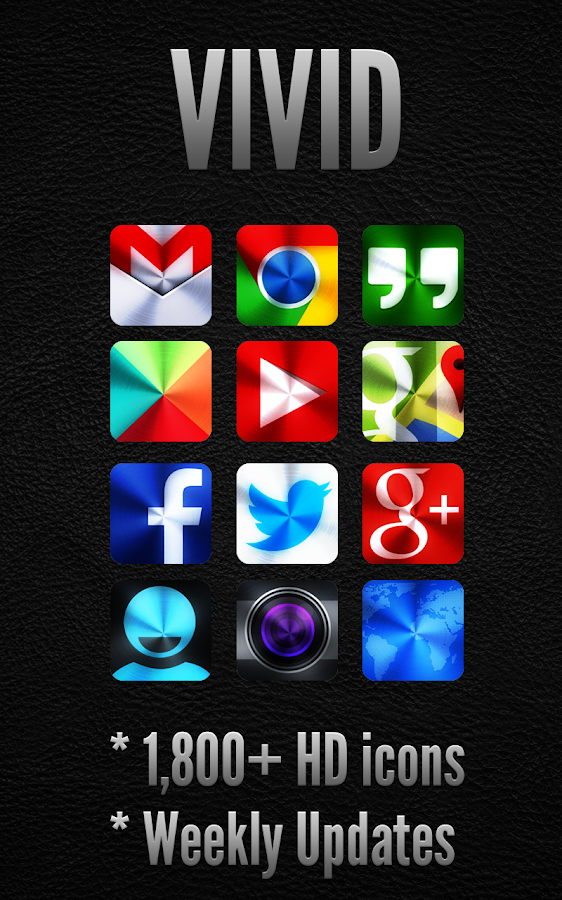 VIVID - Icon Pack - screenshot