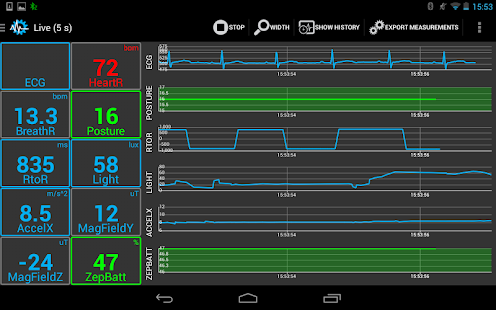 Sensors Toolbox - SenseView - screenshot thumbnail