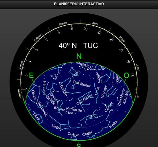 Planisferio Interactivo