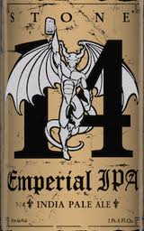 Logo of Stone 14th Anniversary Emperial IPA