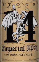 Logo of Stone 14th Anniversary Emperial IPA