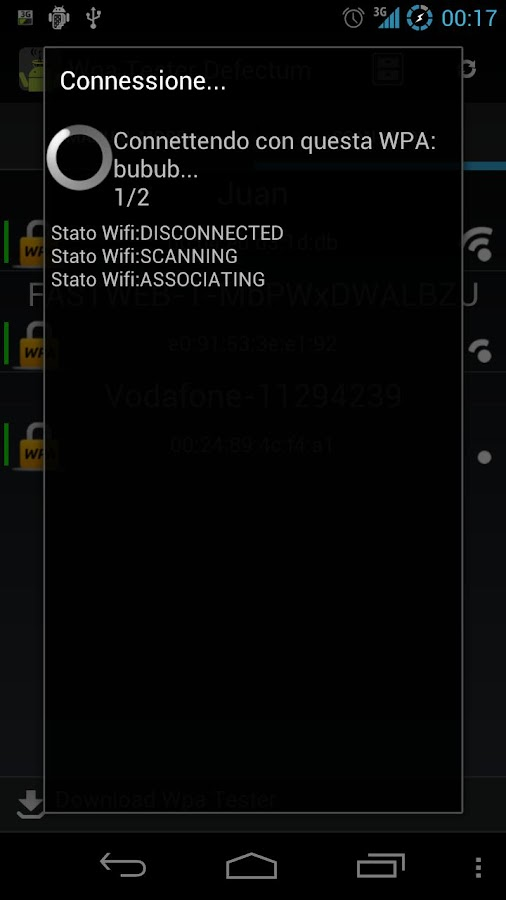 Wpa Tester Defectum - screenshot