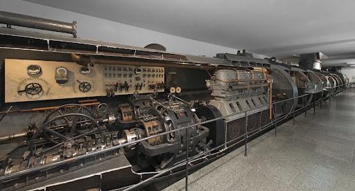 Submarine U-1 - Germania Werft...
