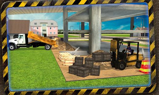 Construction Trucker 3D Sim- screenshot thumbnail