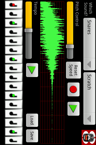 Beat Box Recorder Lite- screenshot
