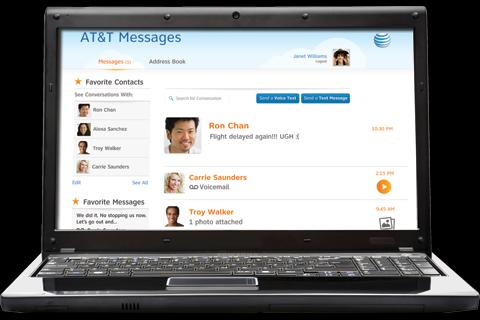 AT&T Messages - screenshot
