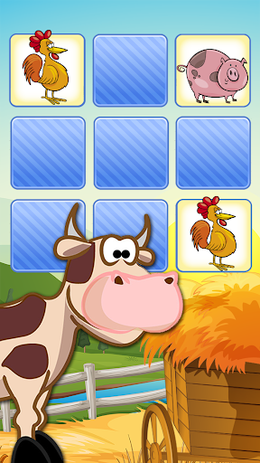 農場有趣記憶遊戲