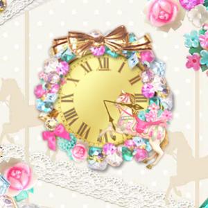 Elegant Carousel clockWidget