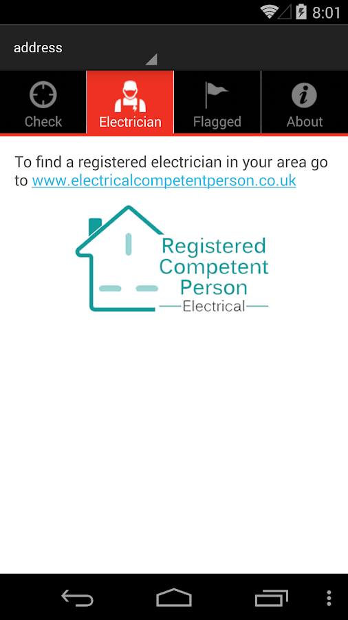 Electrical Safety First- screenshot