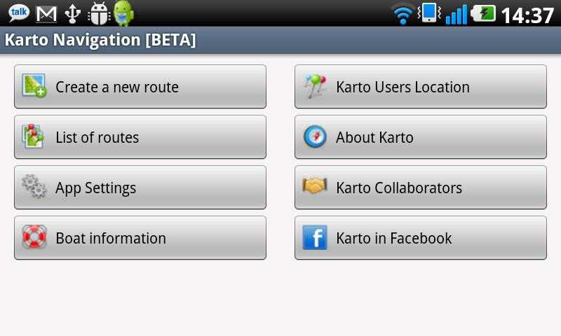 Karto Navigation [BETA] - screenshot
