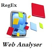 RegEx Web Analyser