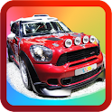 Kids Rally Car Racing icon