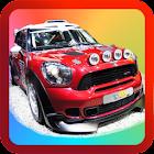 Kids Rally Car Racing icon