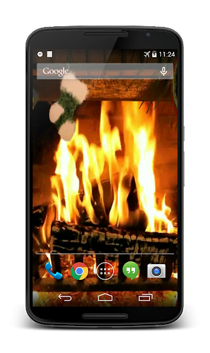Fireplace for Christmas 3D