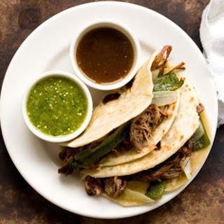 Brisket tacos, Dallas style.