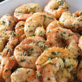 Cilantro Shrimp.