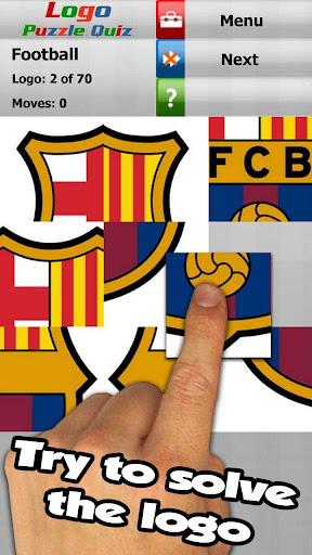 Football: logo puzzle quiz