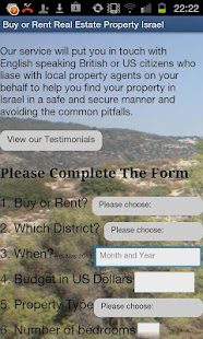 Real Estate Property in Israel - screenshot thumbnail