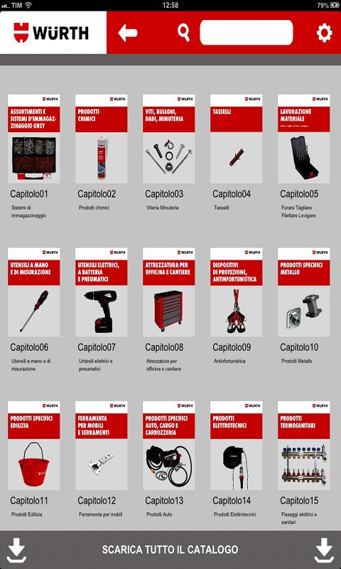 Catalogo Generale Würth Italia- screenshot
