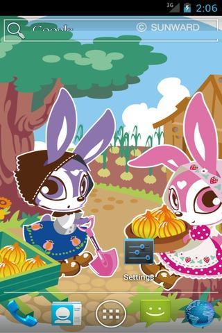 Skip Bunny SQLivewallpaper