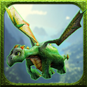 Floppy Dragon 3D icon
