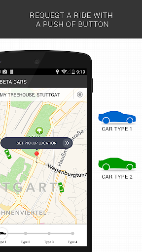 BetaCars - For on demand taxis
