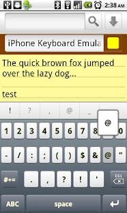 Keyboard Emulator FREE- screenshot thumbnail