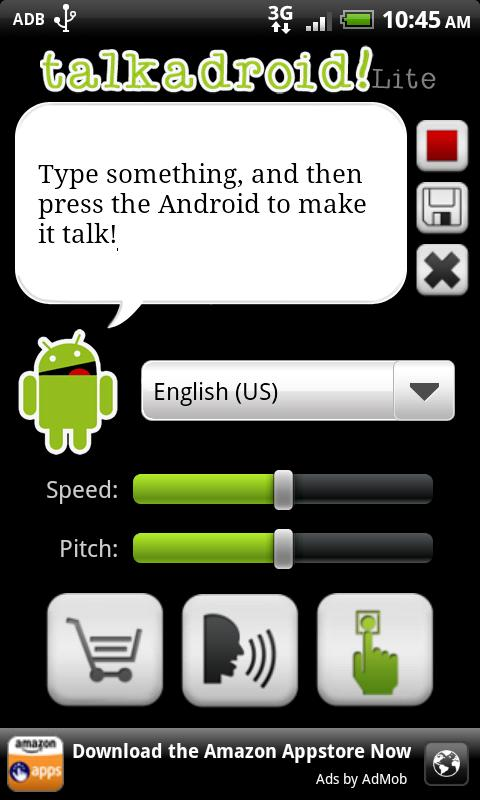 Talkadroid Lite- screenshot