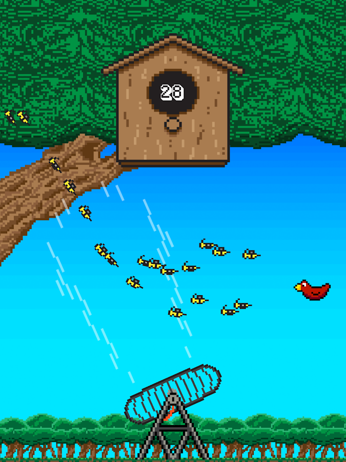 Birds vs Bees Birdhouse Battle- screenshot