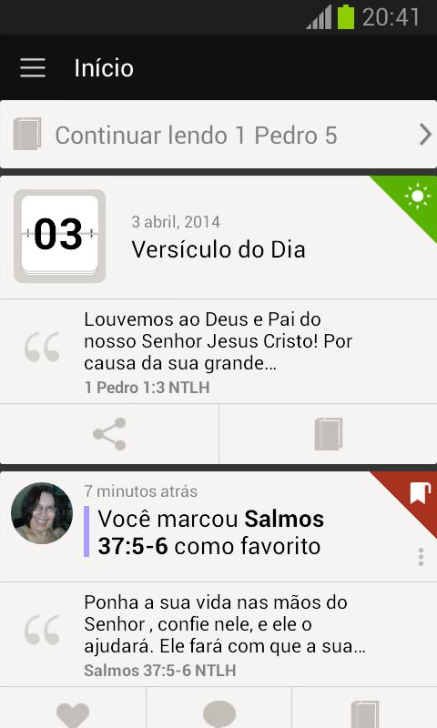 Bíblia - screenshot