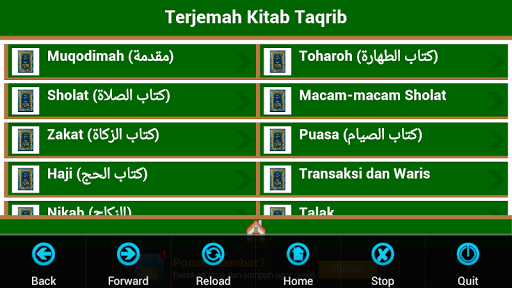 Terjemah Taqrib