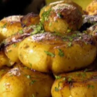Maris piper potatoes: Jacques Pepin style