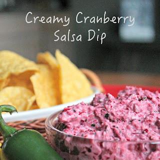 Creamy Cranberry Salsa Dip