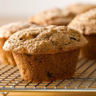 Whole Grain Sour Cream Apple Muffins.