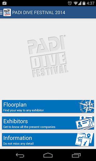 PADI DIVE FESTIVAL 2014