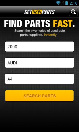 Get Used Parts - Car Parts