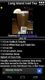 Mr. Bartender Drink Recipes - screenshot thumbnail