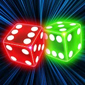 Neon Dice Live Wallpaper