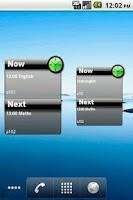 Screenshot of QuikPlan Timetable organizer