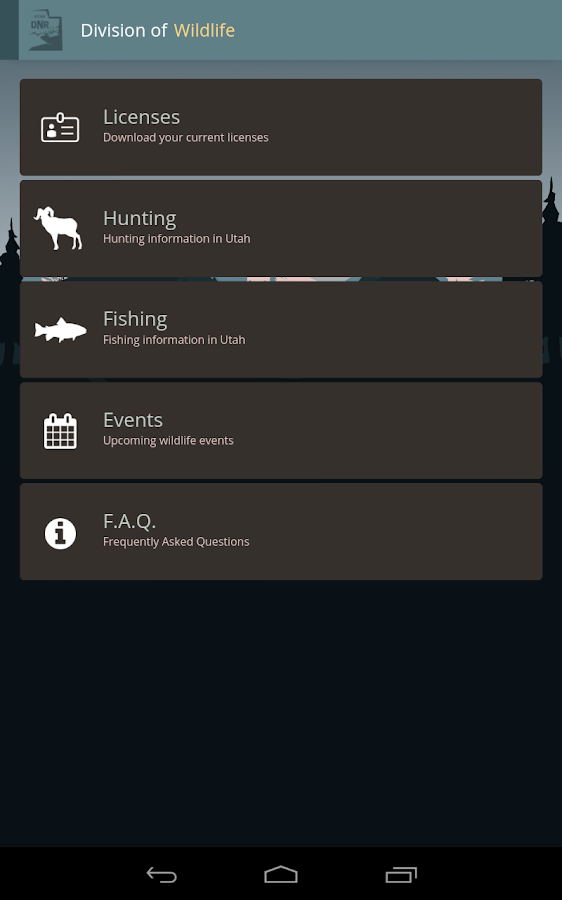 small screenshot 1 office fish. utah hunting and fishing screenshot small 1 office fish