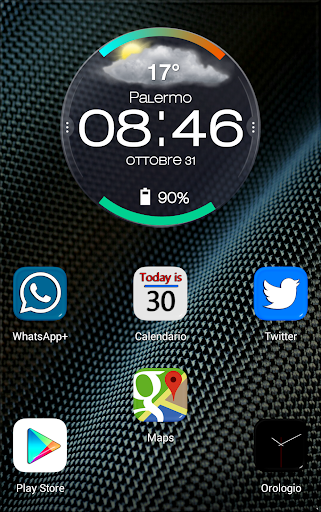 Droid Turbo Zooper Widget