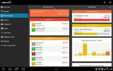 Expense IQ - Expense Manager v1.0.8 build 44