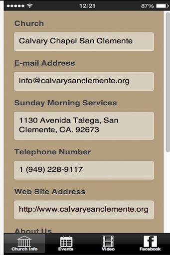 Calvary San Clemente