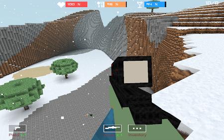 Cube Gun 3D : Winter Craft 1.0 screenshot 44138